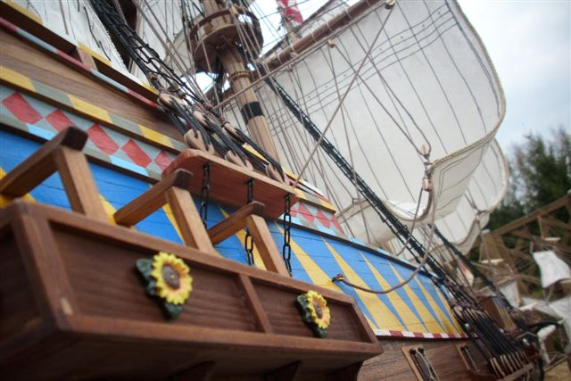 """Historische Segelschiffe  """"Golden Hind """" - Seite 5 Dsci0028"""