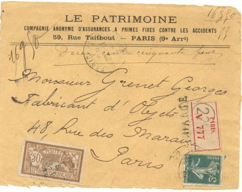 tarif lettre chargée Charga10