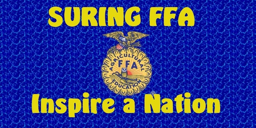 Welcome to the Suring FFA Website