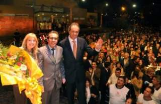 """Scioli, Alvarez Rodríguez y Sandro inauguraron el hospital """"Horacio López"""" en Garín Scioli10"""