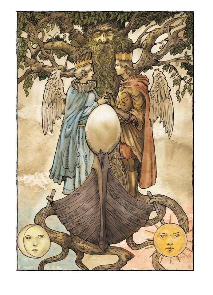 La pirogue et l'arbre  17806310