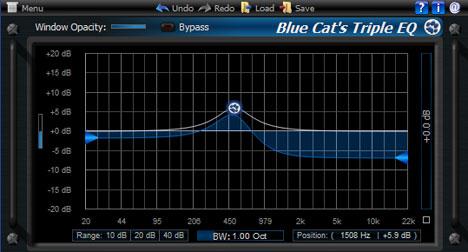 Blue Cat Audio - Blue Cat's Triple EQ Blueca10