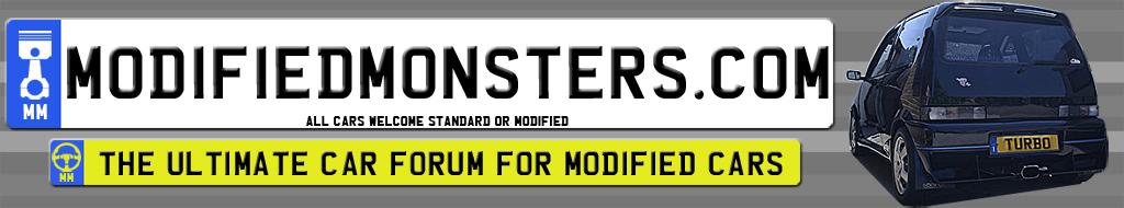 Modified Monsters : The Ultimate Car Forum Banner11