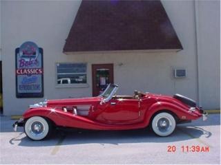 Essai de la Mercedes 540K Roadster 1937 11175612