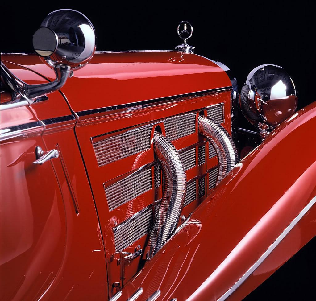 Essai de la Mercedes 540K Roadster 1937 1935_m10