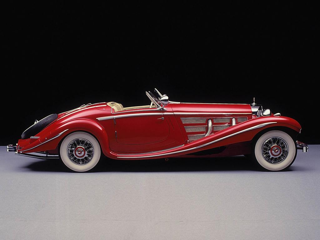 Essai de la Mercedes 540K Roadster 1937 1935_m11