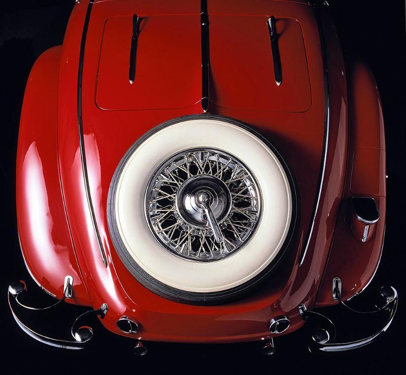 Essai de la Mercedes 540K Roadster 1937 1935me10