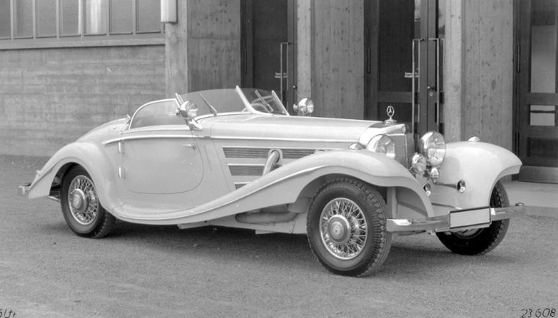 Essai de la Mercedes 540K Roadster 1937 1935me12