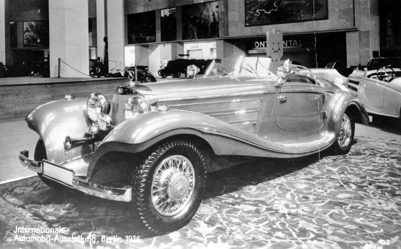 Essai de la Mercedes 540K Roadster 1937 1935me13