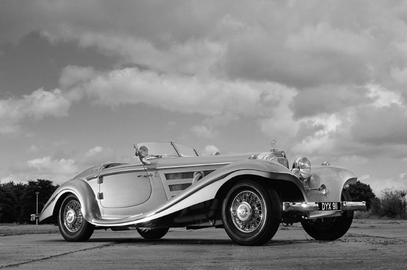 Essai de la Mercedes 540K Roadster 1937 1935me14