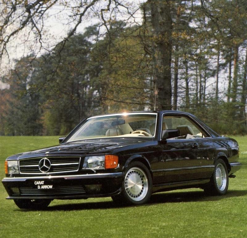 La Mercedes 560 Duchatelet 1e9a4a11