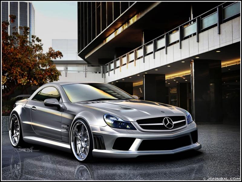 [Photos] Galerie : La Mercedes SL R230 23_mer10