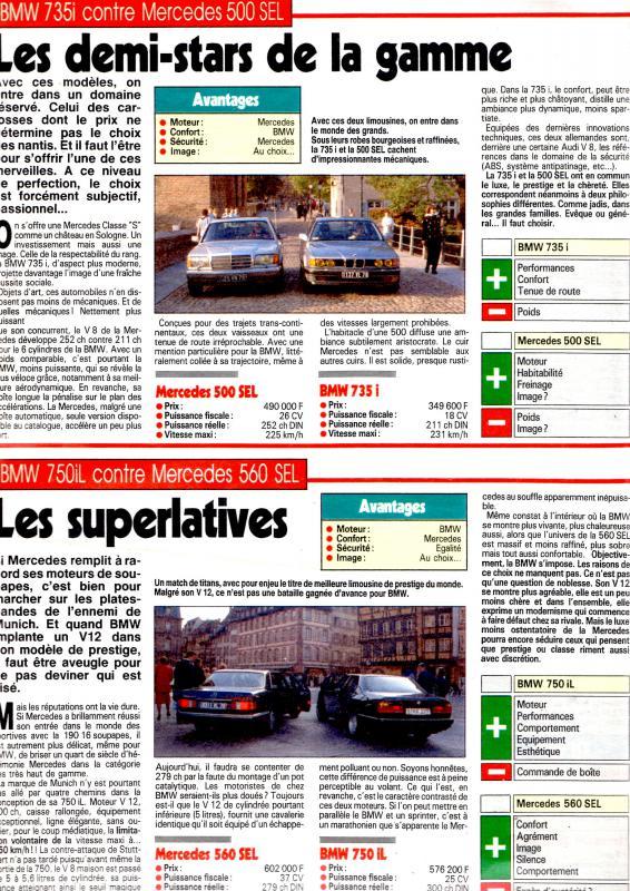 Les Mercedes 500/560 SE/SEL (W126)  24854110