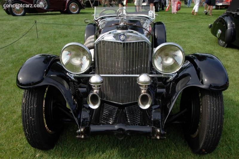 Mercedes SS SSK & SSKL (W06) 1928-1934 31_mer10