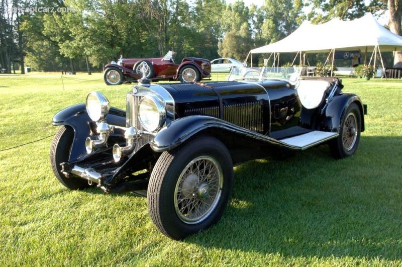 Mercedes SSK 1929. Interprétation très libre... 31_mer12