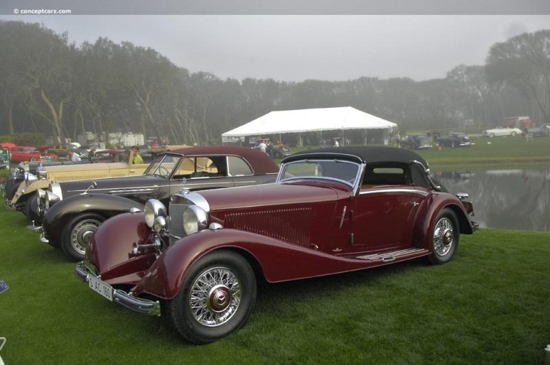 [Essai] Mercedes 540K Roadster 1937 - 1939  35-mer12