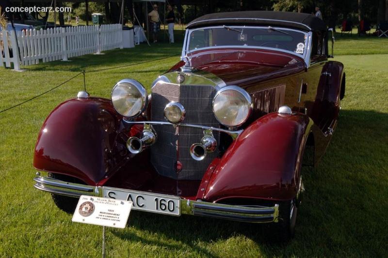 [Essai] Mercedes 540K Roadster 1937 - 1939  35_mer10