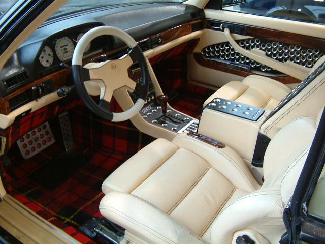 Les interieurs de W126 1980 - 1992 5671d110