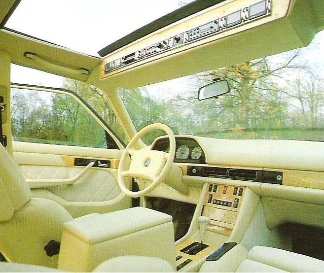 Les interieurs de W126 1980 - 1992 606a8a10