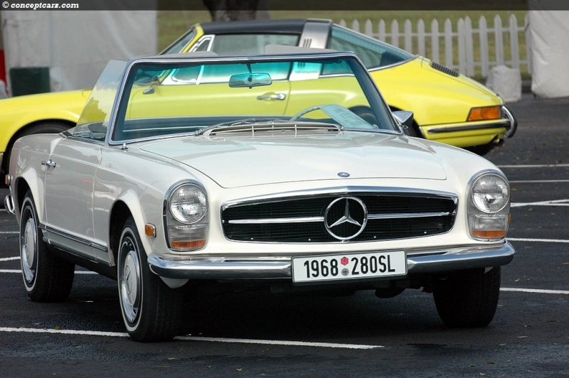 "La ""Pagode"" 280 SL (W113 1967-1971)  68-mer11"