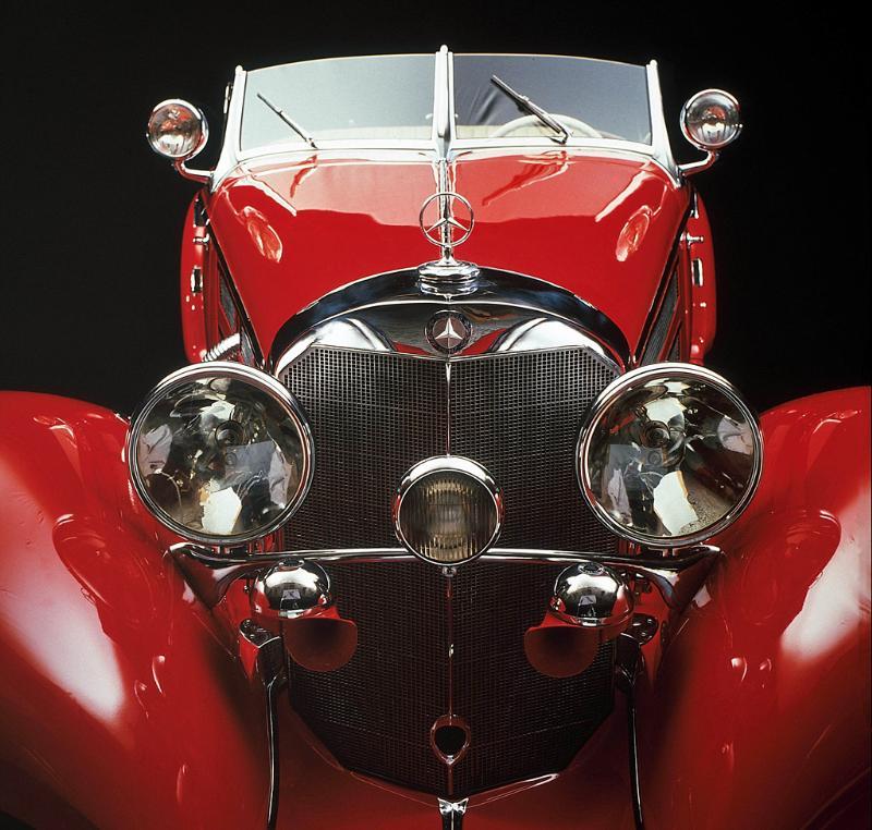 Essai de la Mercedes 540K Roadster 1937 A10