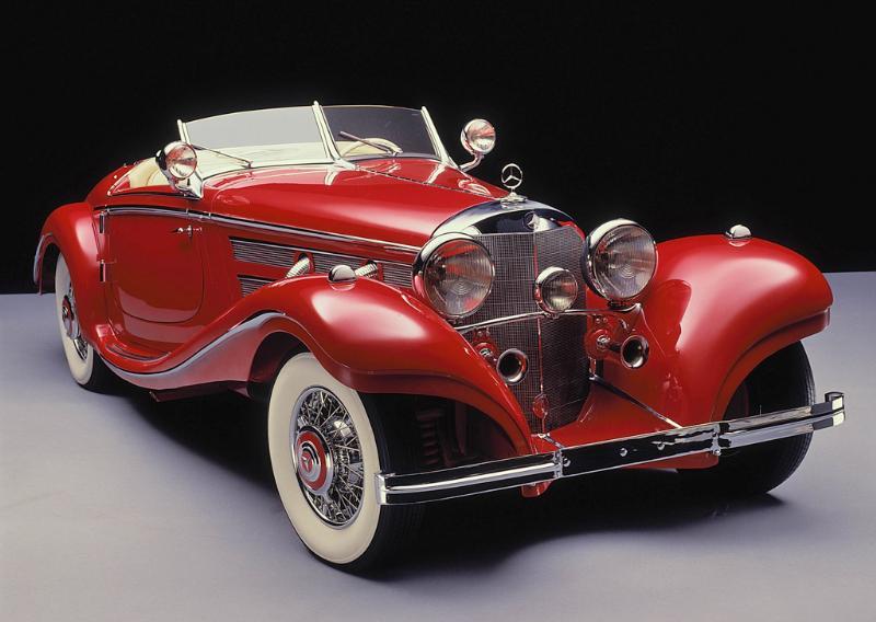 Essai de la Mercedes 540K Roadster 1937 A110