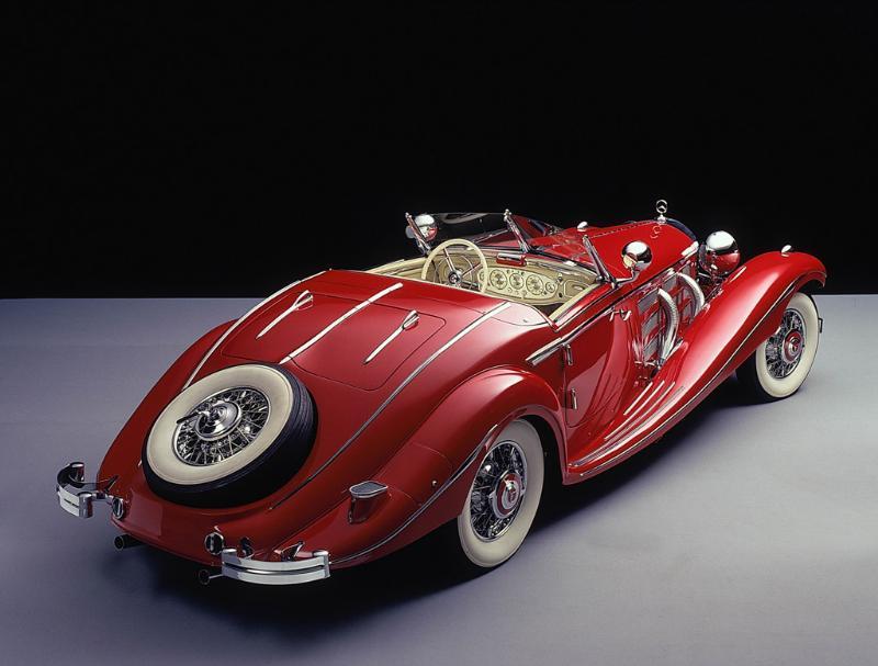 Essai de la Mercedes 540K Roadster 1937 A210