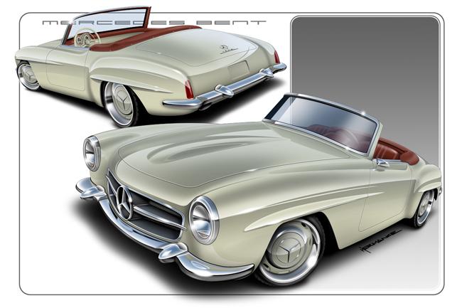 Les répliques de Mercedes - Page 2 Hero10