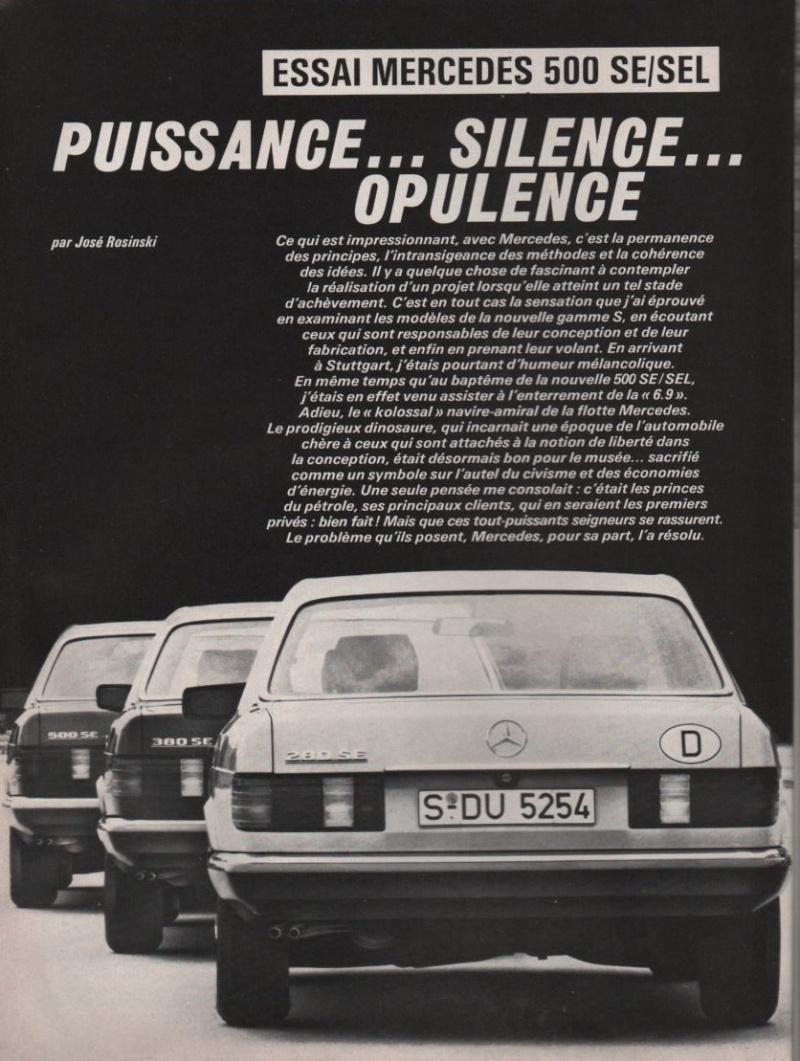 Les Mercedes 500/560 SE/SEL (W126)  Image-12