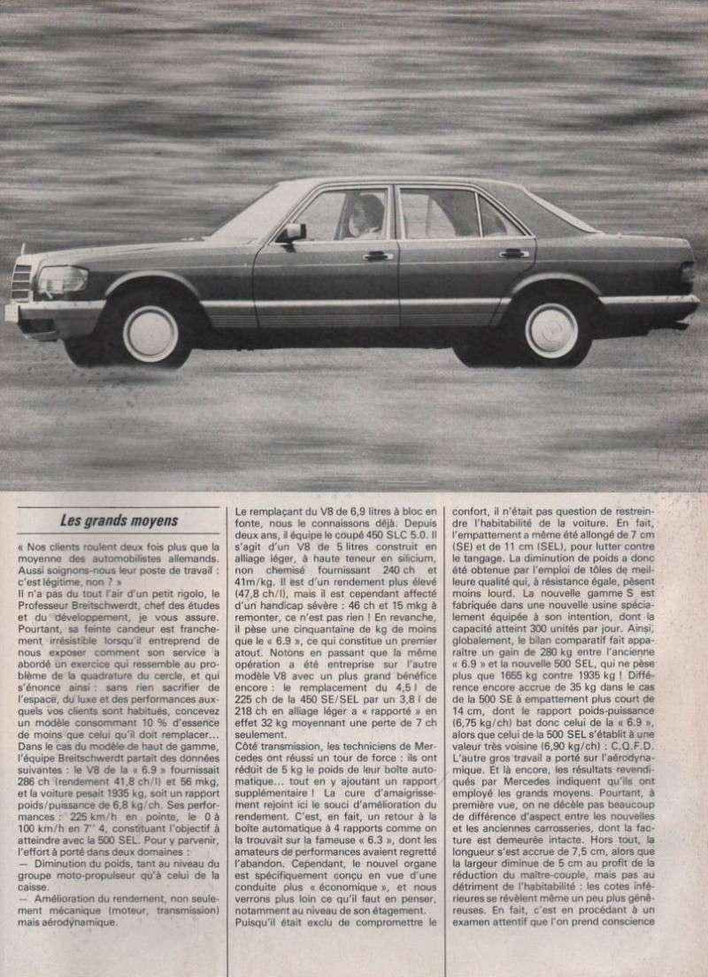 Les Mercedes 500/560 SE/SEL (W126)  Image-13