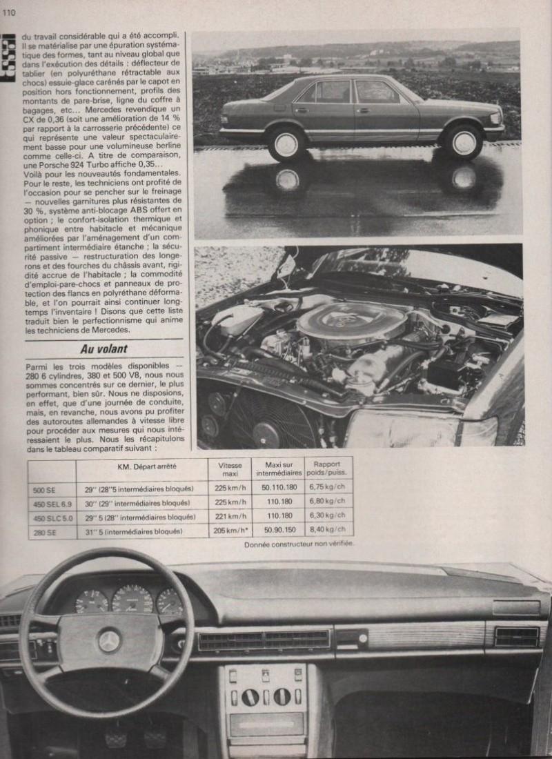 Les Mercedes 500/560 SE/SEL (W126)  Image-14