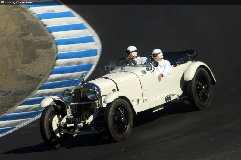 Mercedes SS SSK & SSKL (W06) 1928-1934 Merce291