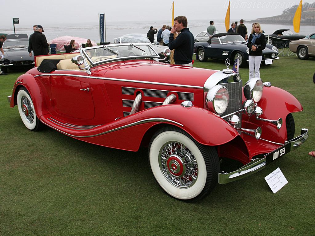 Essai de la Mercedes 540K Roadster 1937 Merced87
