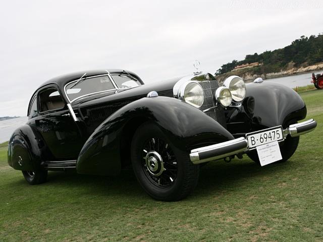 Essai de la Mercedes 540K Roadster 1937 Merced90