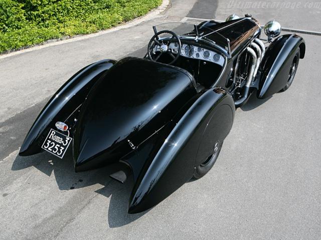 Essai de la Mercedes 540K Roadster 1937 Merced92
