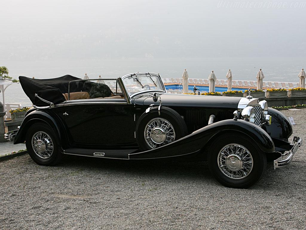 Essai de la Mercedes 540K Roadster 1937 Merced98