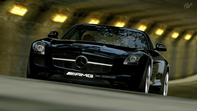 [Photos] Galerie : La Mercedes SLS Trialm10