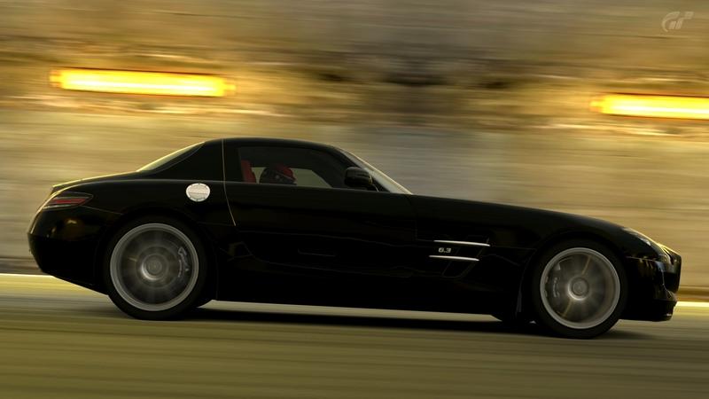 [Photos] Galerie : La Mercedes SLS Trialm11