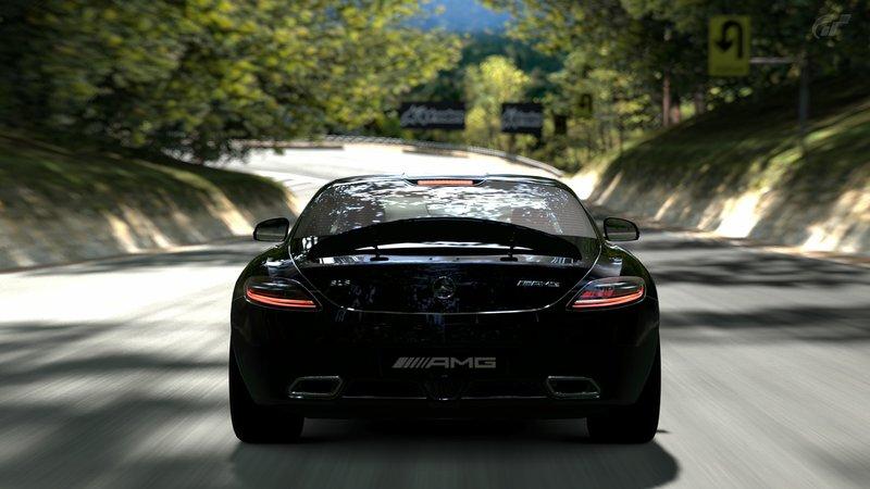 [Photos] Galerie : La Mercedes SLS Trialm13