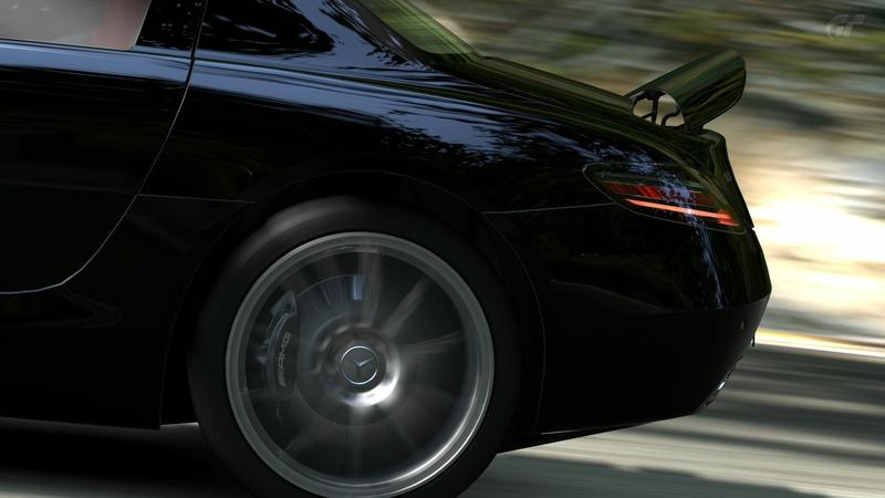 [Photos] Galerie : La Mercedes SLS Trialm14