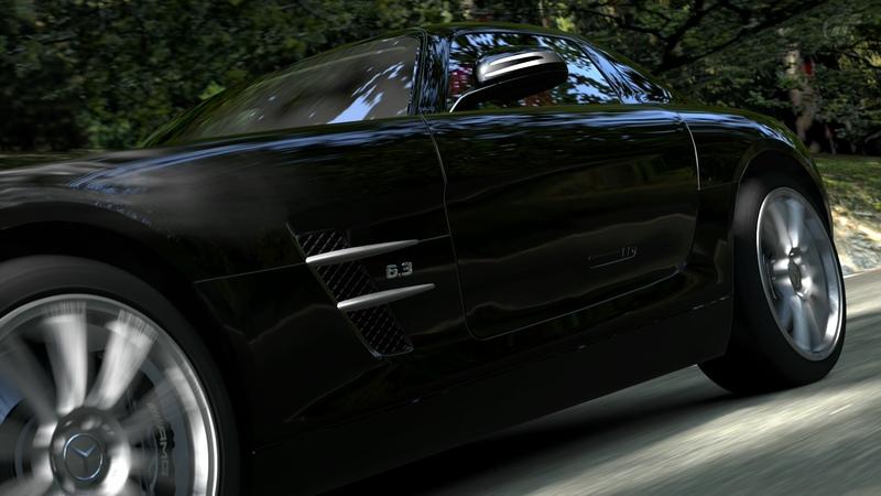 [Photos] Galerie : La Mercedes SLS Trialm15