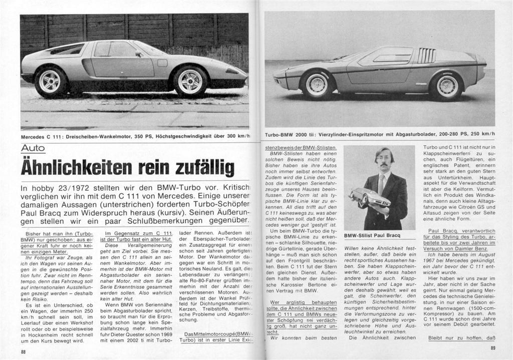 [Designer] Paul Bracq chez Mercedes-Benz  Vergle10