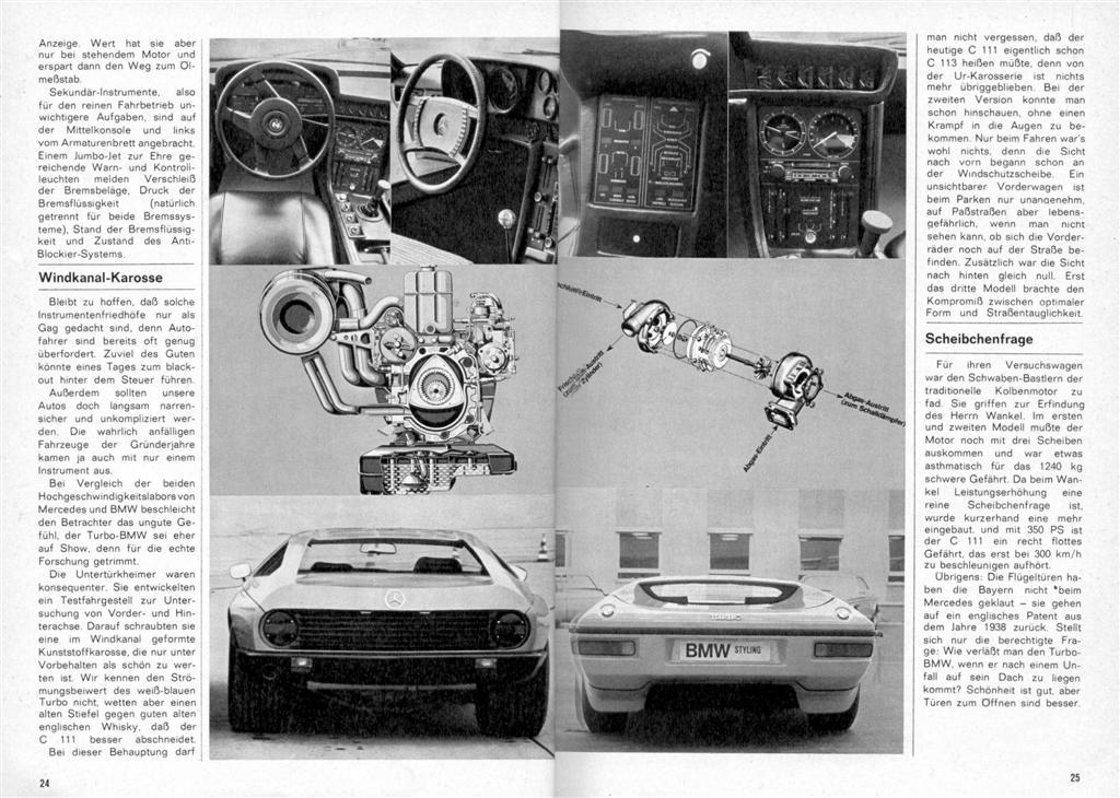 [Designer] Paul Bracq chez Mercedes-Benz  Vergle11