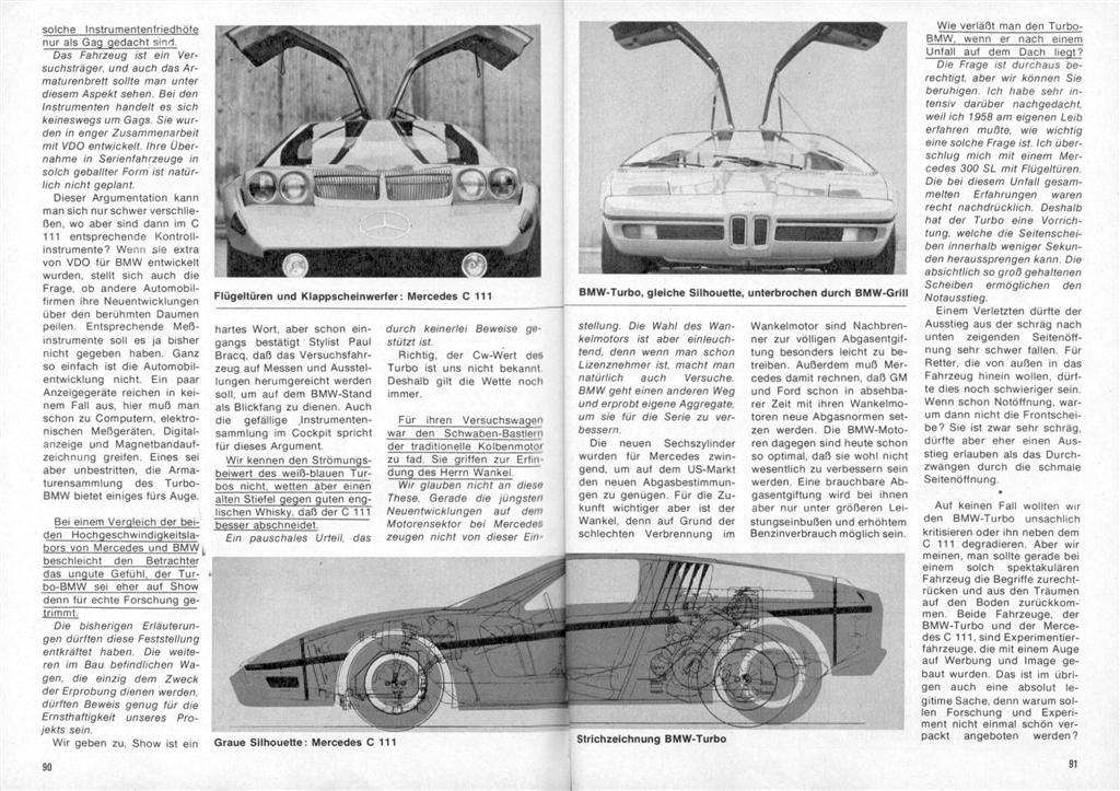 [Designer] Paul Bracq chez Mercedes-Benz  Vergle12