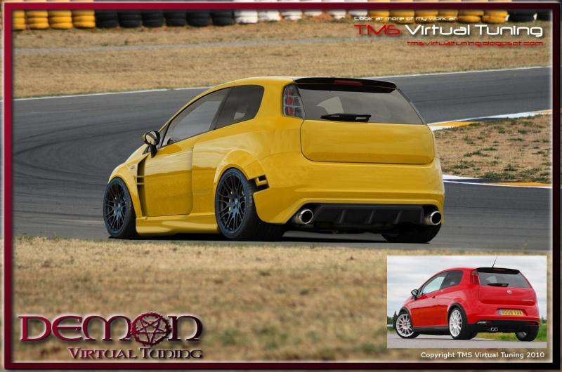 Fiat Punto Render Punto16