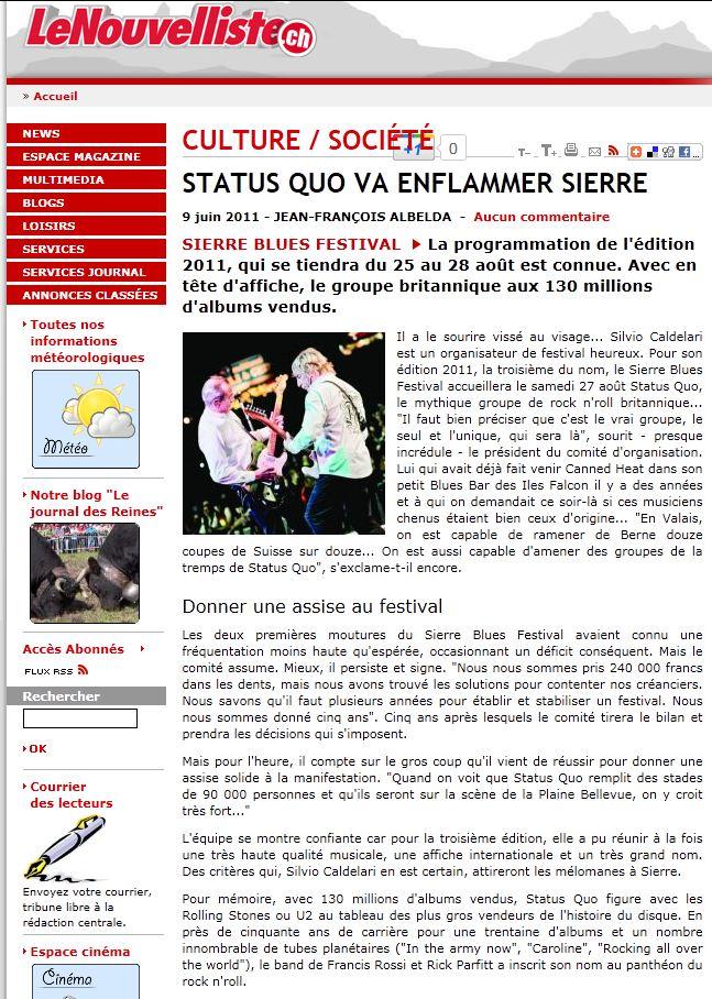 La Presse en Parle ... Quo_si10