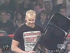 [Raw] (Avant match) Sin Cara VS JTG Christ15