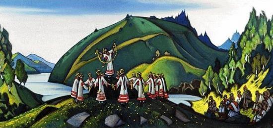 Nicolas Roerich [Peintre] Prolet10