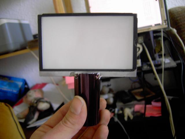 Fabriquer une lampe de chevet avec une dalle psp cassé Pict0311