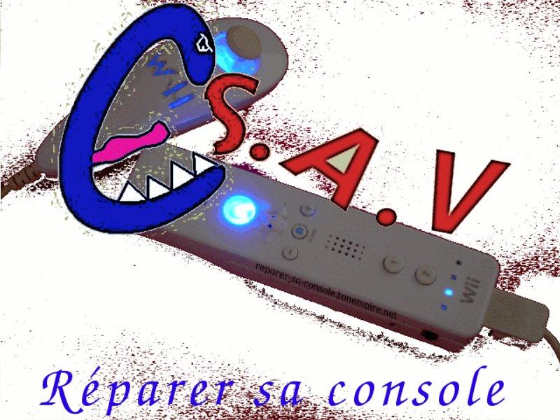 Fond écran réparer sa console Repare10